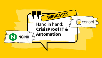 ConSol & NGINX: CrisisProof IT & Automation hand in hand